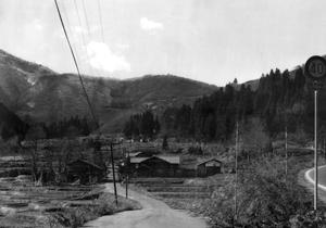 荒戸集落の旧街道_昭和40年代_S