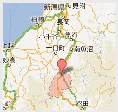 湯沢町アクセスマップ