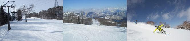 かぐらスキー場みつまたステーション写真