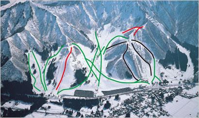 湯沢中里スキー場エリア