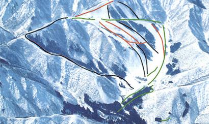 神立高原スキー場エリア