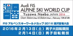 Audi FIS アルペンスキーワールドカップ湯沢苗場大会