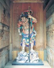 「瑞祥庵」の仁王像