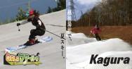 夏のゲレンデを爽快に楽しもう!湯沢の夏スキー!